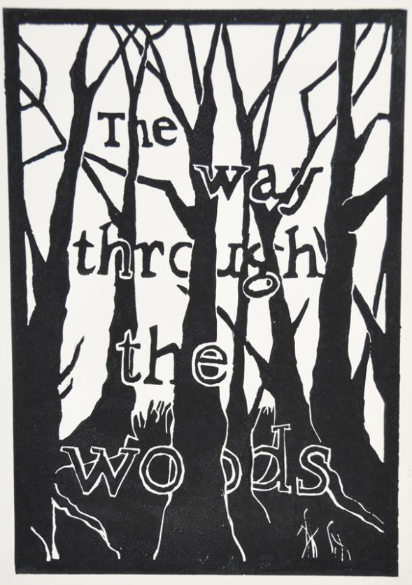 The Way Through the Woods 2 - Original artwork by Pat Rhead-Phillips