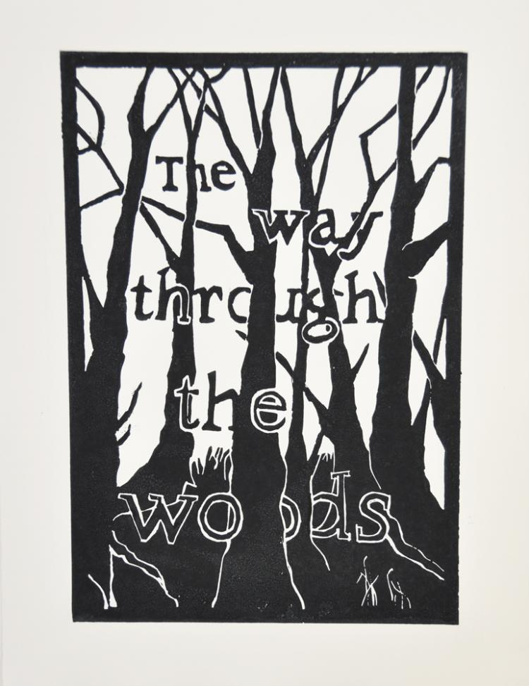 The Way Through the Woods #2 - an original artwork by Pat Rhead-Phillips