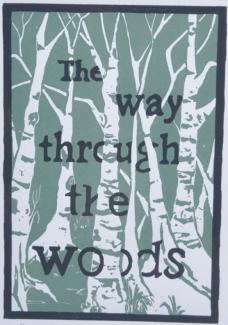 The Way Through the Woods - an original artwork by Pat Rhead-Phillips